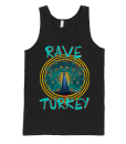 Mens Rave Turkey Tank