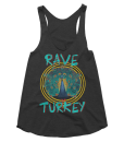 Womens Rave Turkey Tank